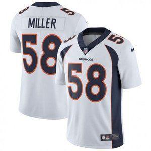 Broncos Von Miller White Jersey